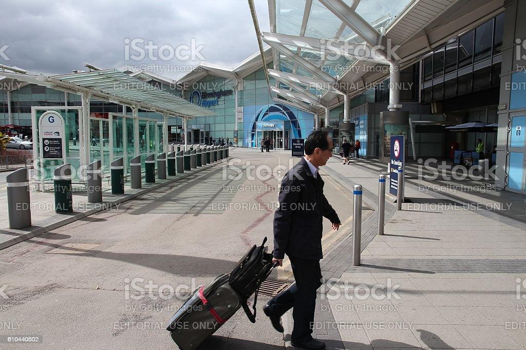 Birmingham Airport stock photo