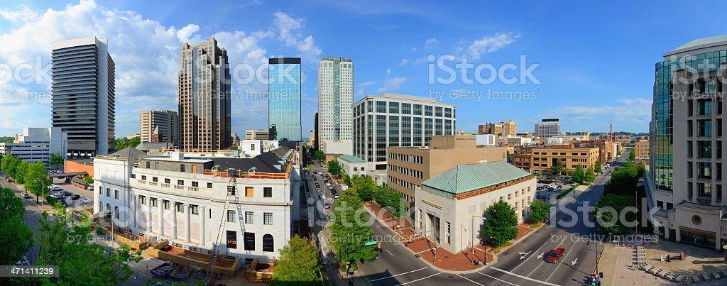 Birmingham, Alabama Panorama stock photo