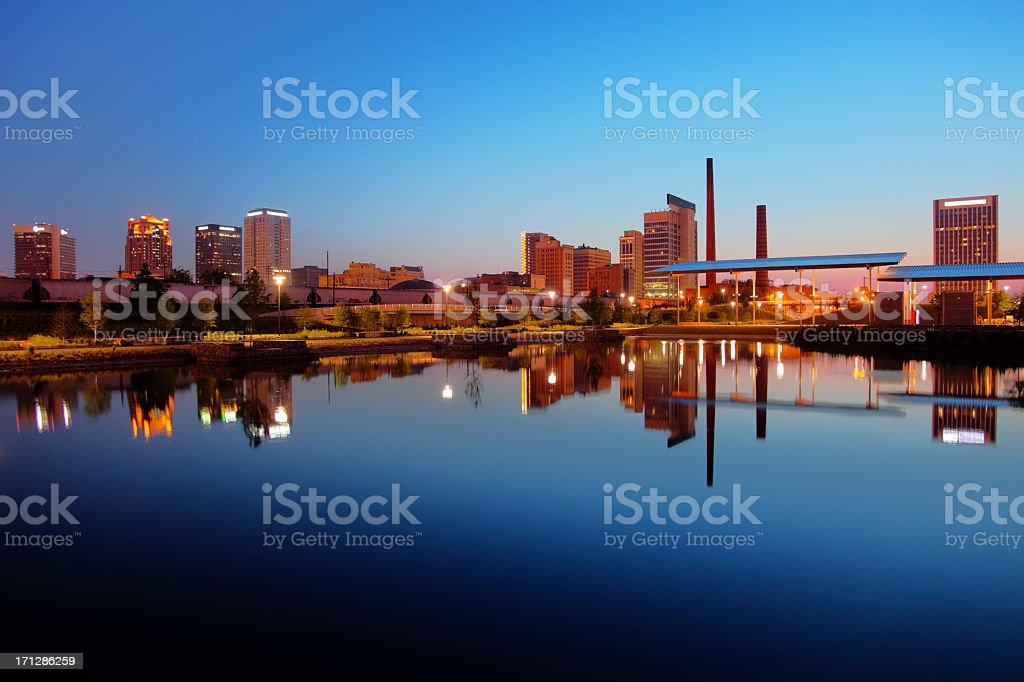 Birmingham Alabama stock photo