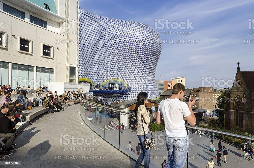 Birmingham Bullring shopping centre royalty-free stock photo