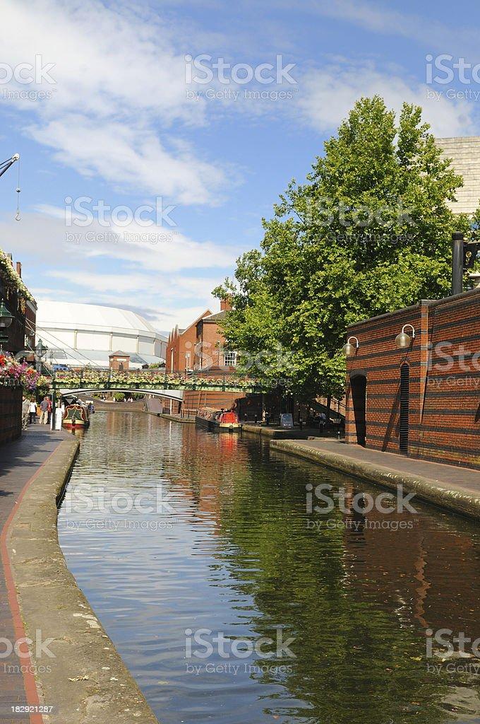 Birmingham Canal Navigations stock photo
