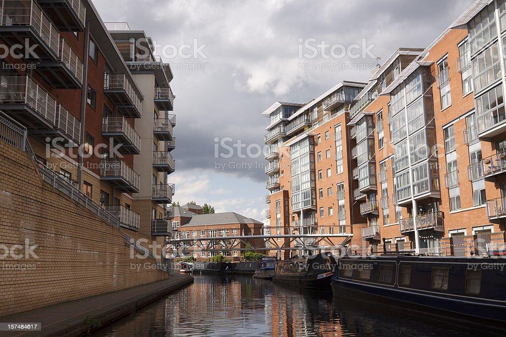 Birmingham canals royalty-free stock photo