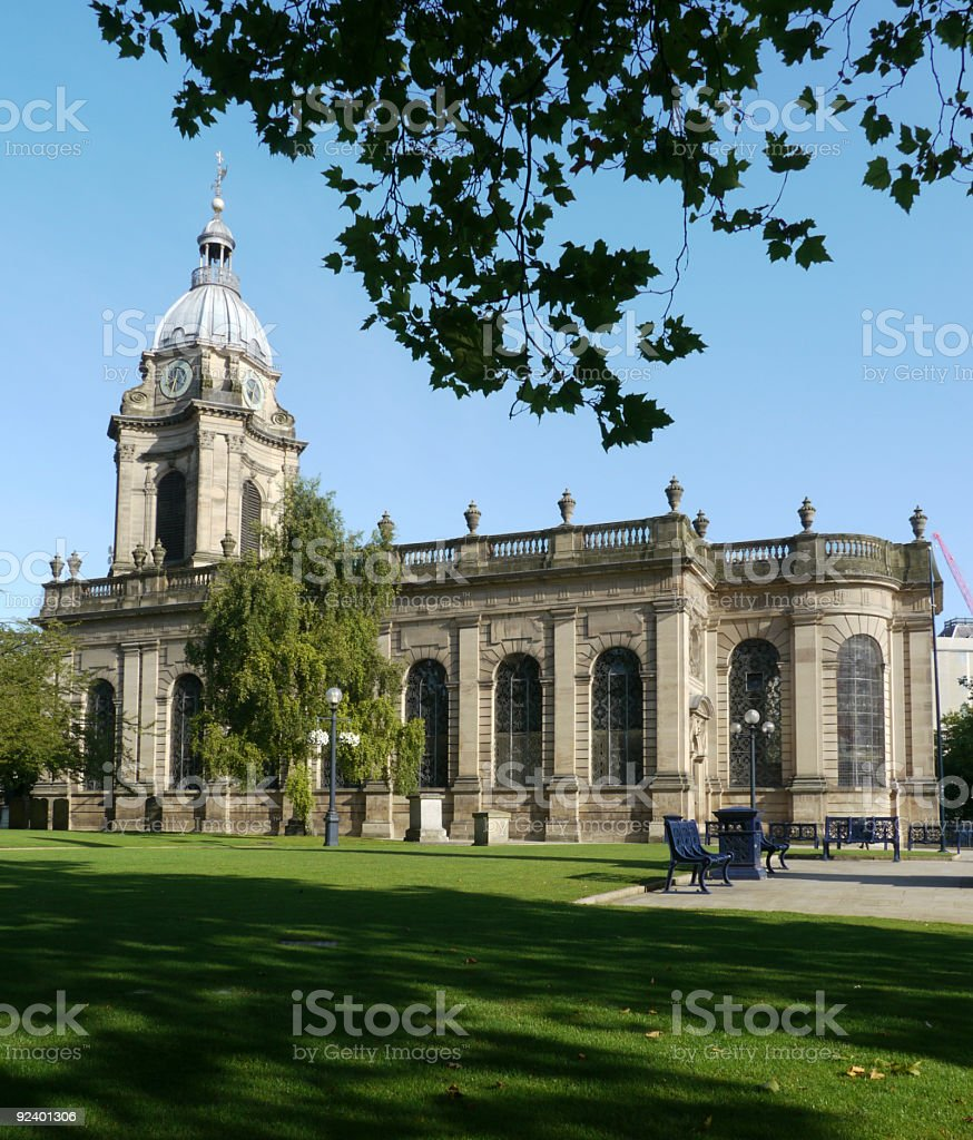 Birmingham Cathedral royalty-free stock photo