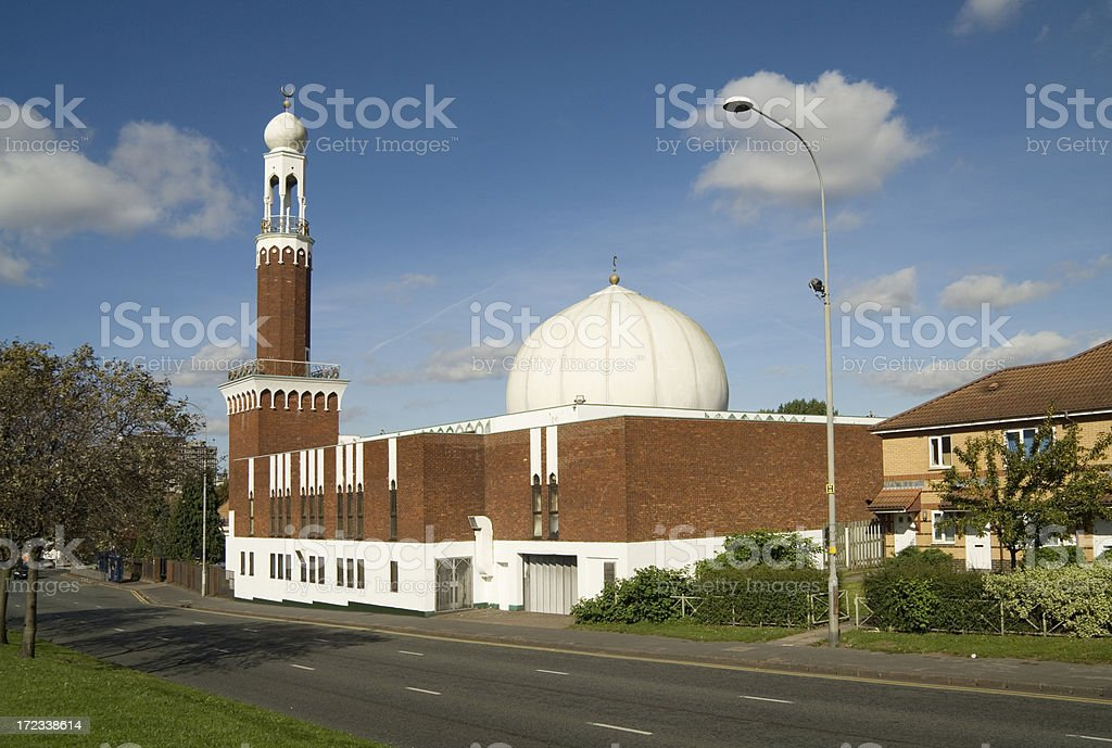 Birmingham Central Mosque royalty-free stock photo