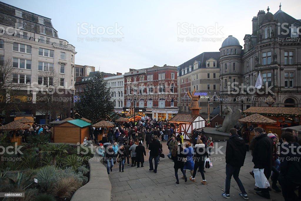 Birmingham Christmas Market stock photo