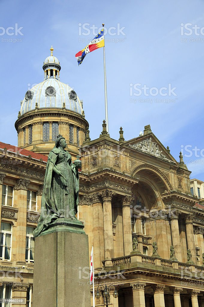 Birmingham City Council House royalty-free stock photo