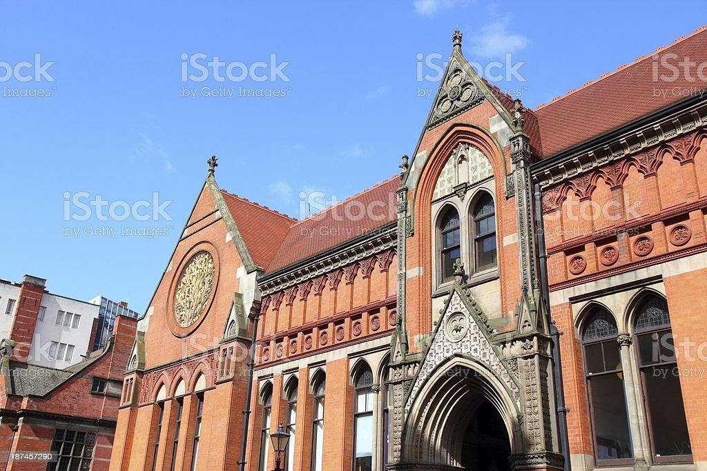 Birmingham City University royalty-free stock photo