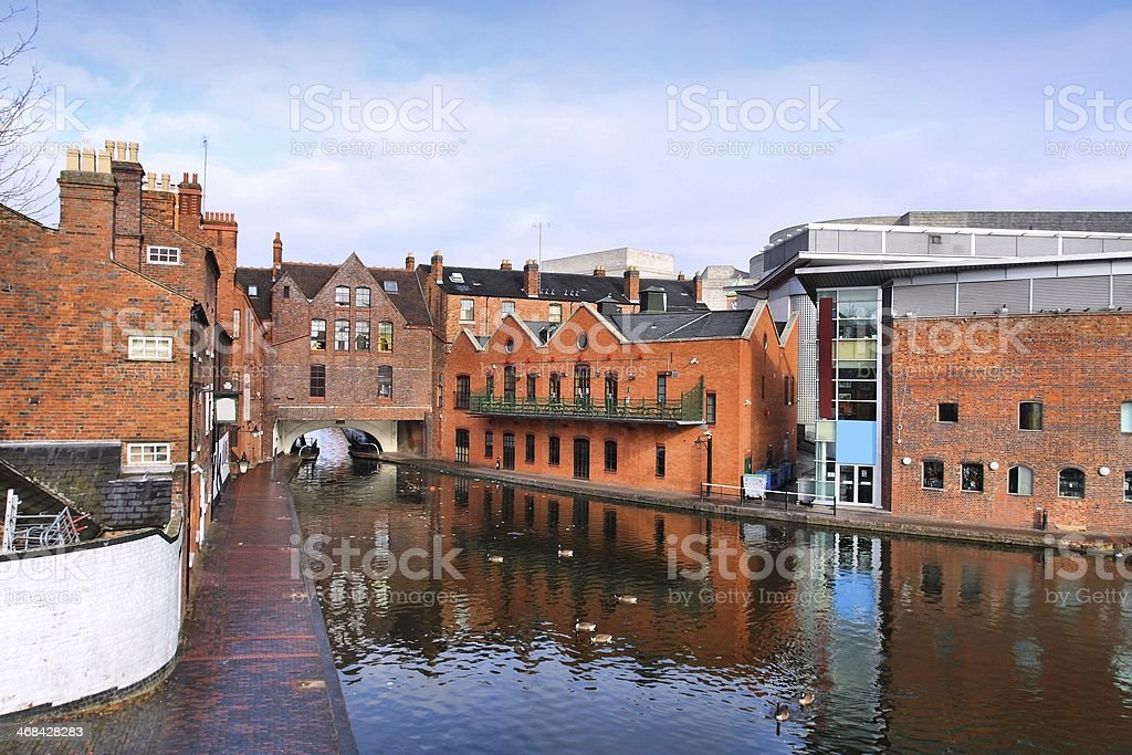 Birmingham, England royalty-free stock photo