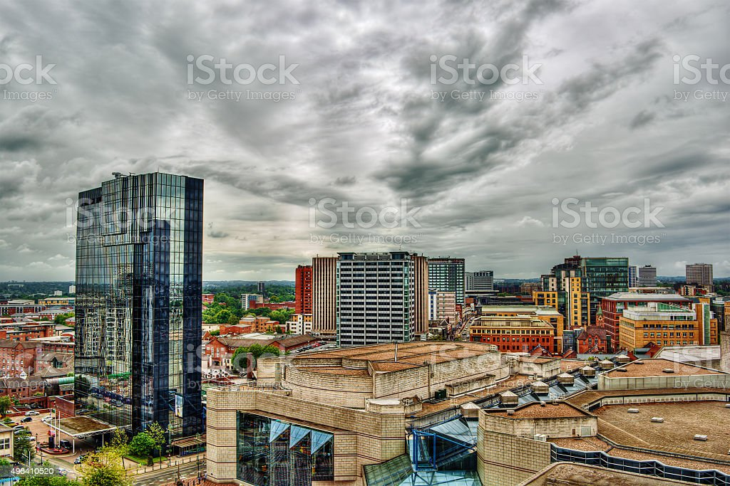 Birmingham HDR stock photo