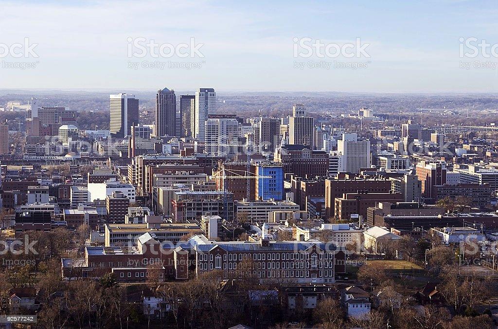 Birmingham - horizontal royalty-free stock photo