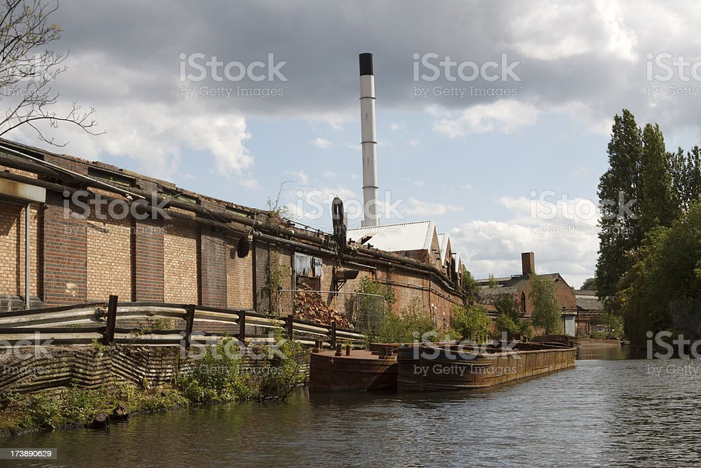 Birmingham Industrial area royalty-free stock photo