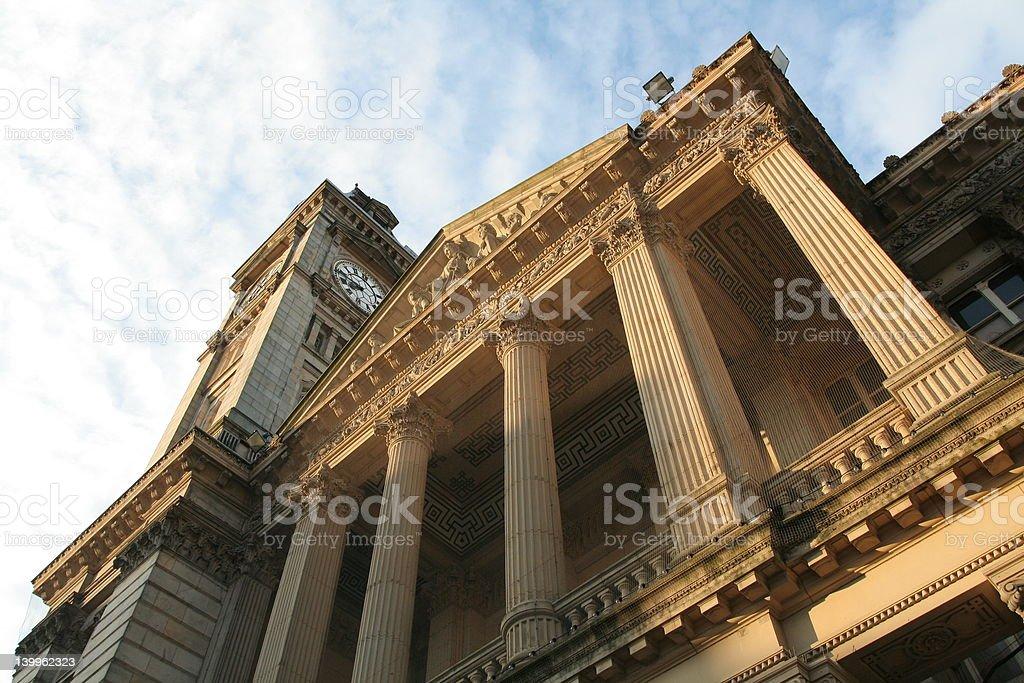 Birmingham Museum & Art Gallery royalty-free stock photo