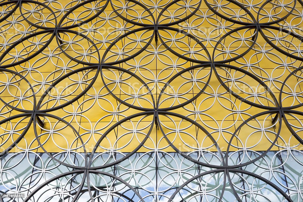 Birmingham (UK) Pubic Library Close-up royalty-free stock photo