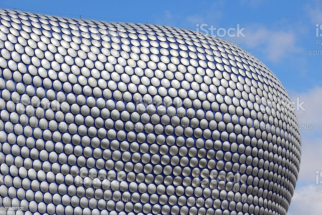 Birmingham Selfridges stock photo