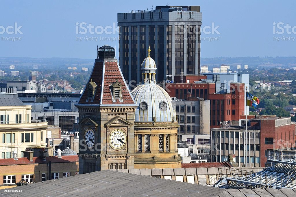 Birmingham Skyline stock photo