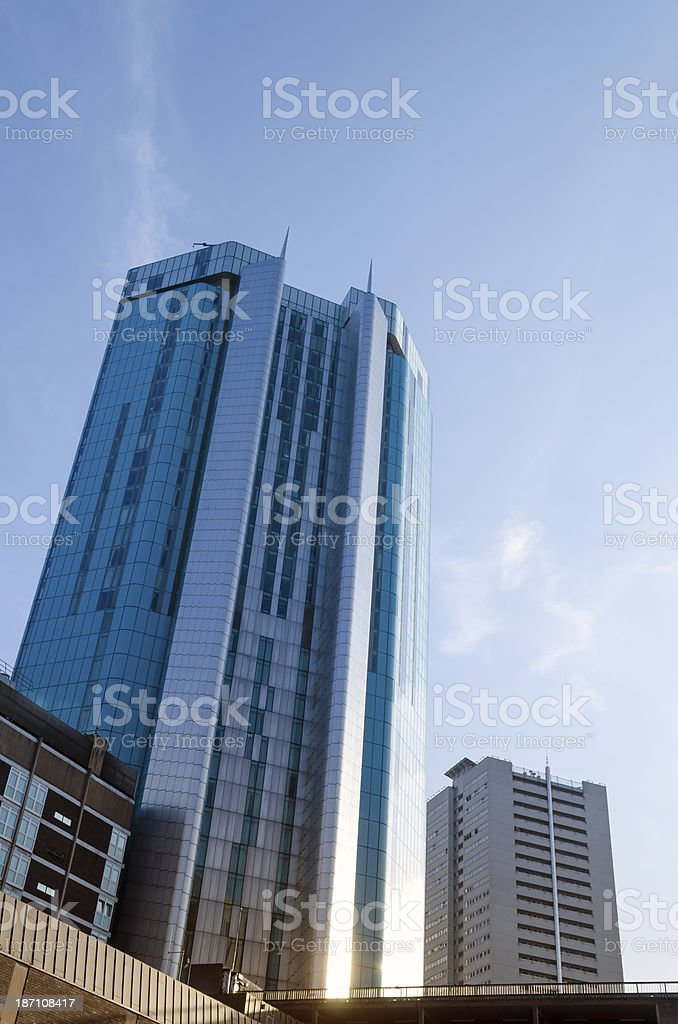 Birmingham skyscraper stock photo