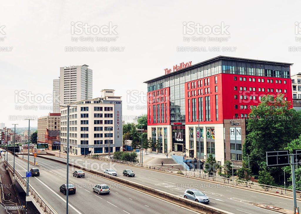 Birmingham - The Mailbox royalty-free stock photo