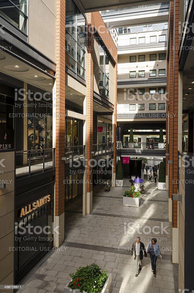 Birmingham, The Mailbox shopping centre royalty-free stock photo