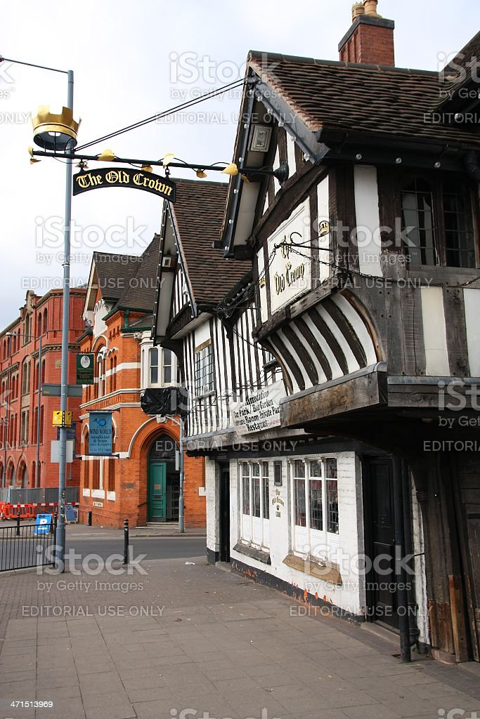 Birmingham - The Old Crown royalty-free stock photo