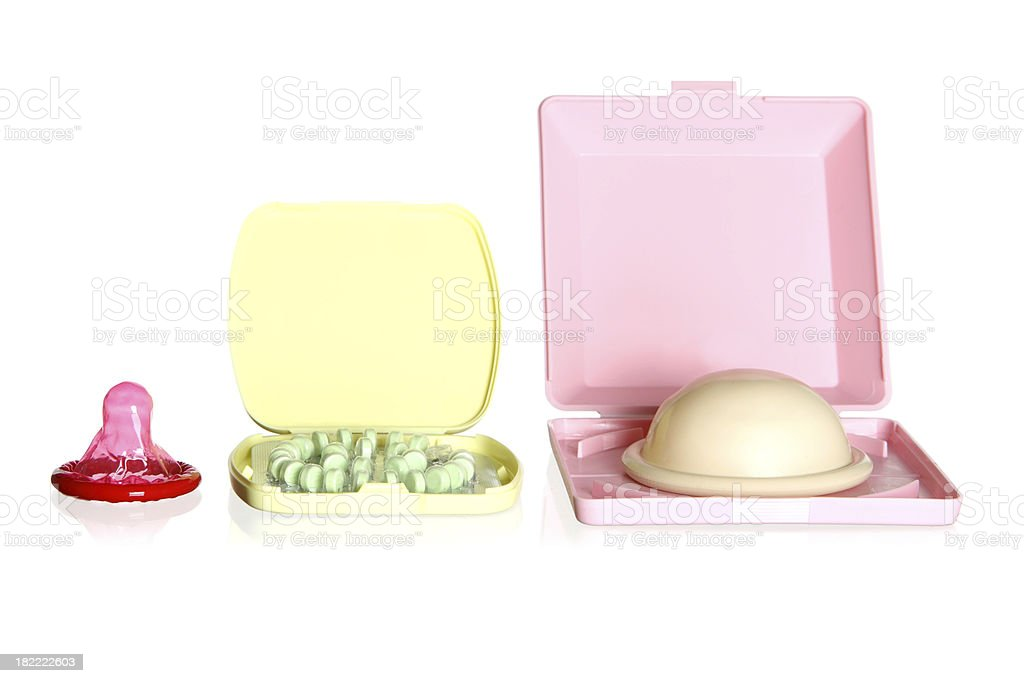 Birth Control Choices royalty-free stock photo