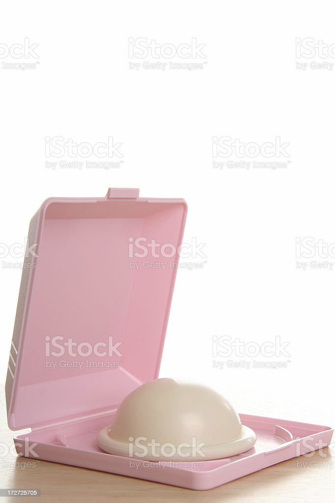 Birth Control: Diaphragm (Sexuality Series) stock photo
