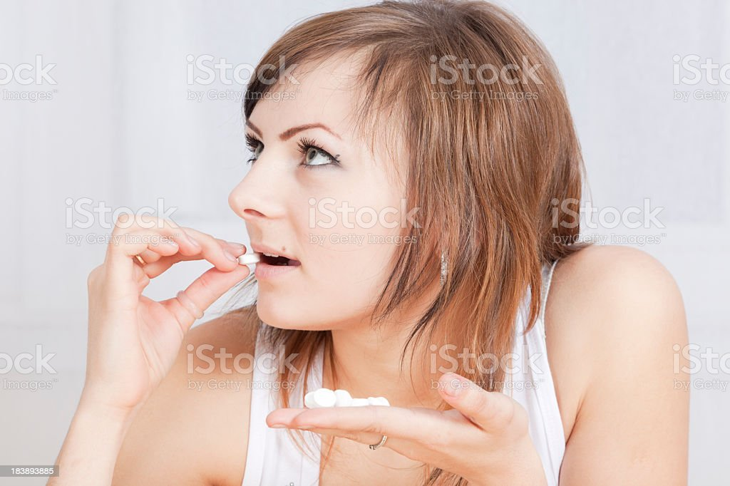 Birth Control royalty-free stock photo