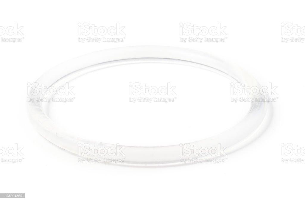 Birth Control Vaginal Ring stock photo