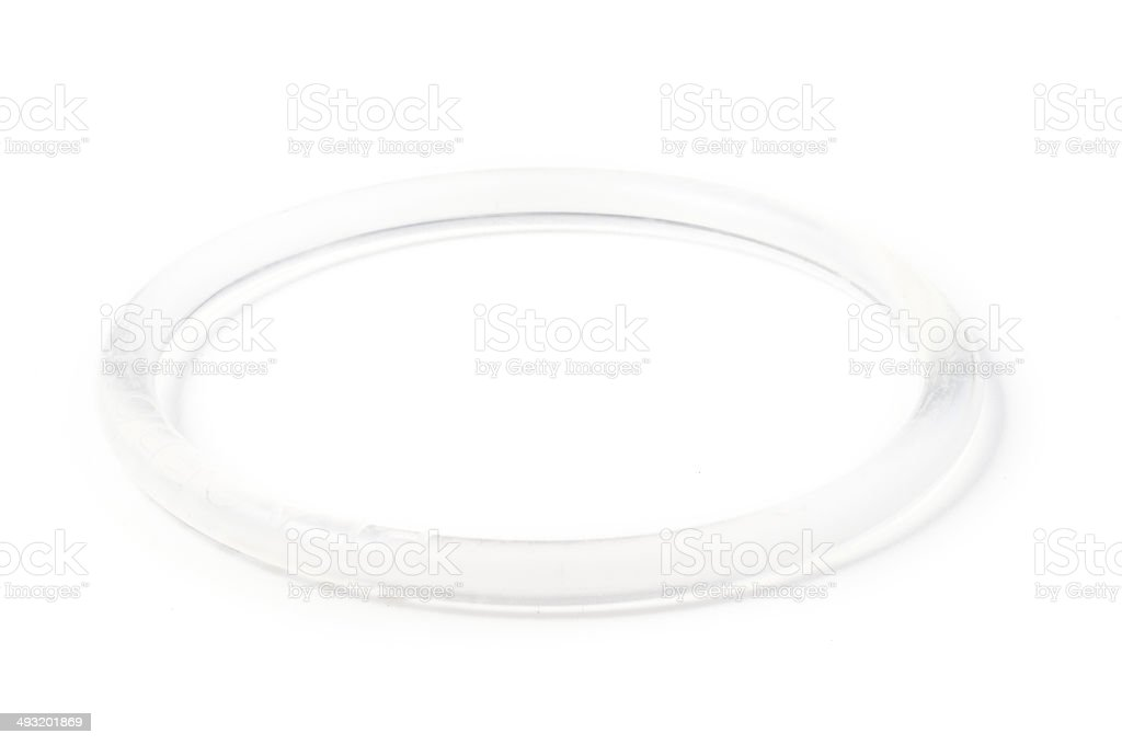Birth Control Vaginal Ring stock photo