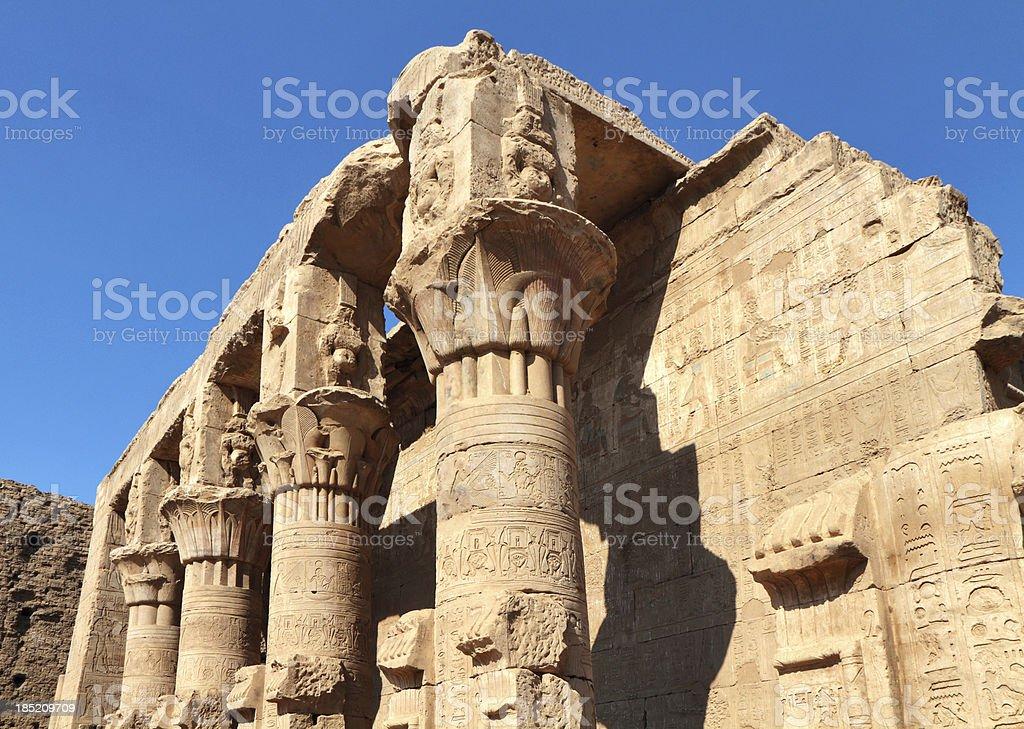 Birth House, Temple of Horus, Edfu, Egypt stock photo