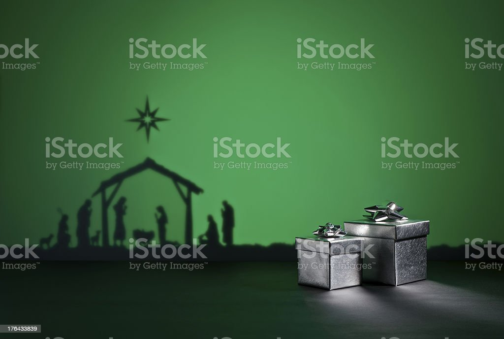 Birth Jesus royalty-free stock photo