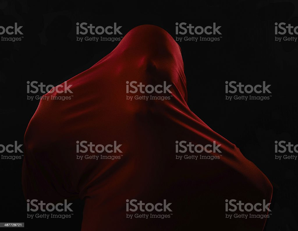 Birth of evil royalty-free stock photo