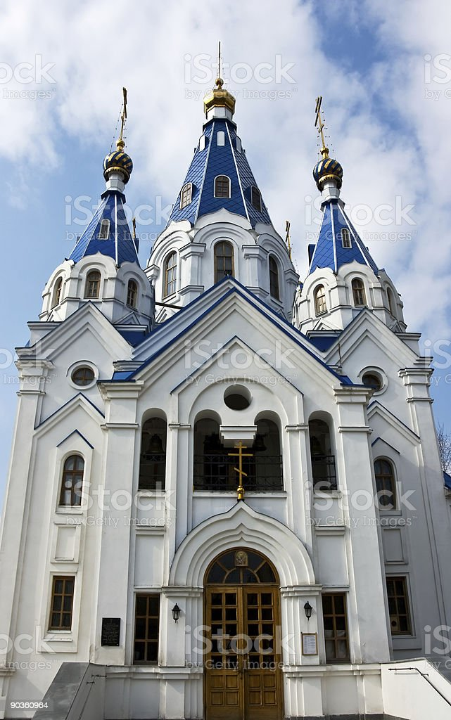 birth of mary cathedral royalty-free stock photo