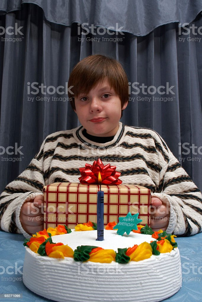 Birthday Boy royalty-free stock photo