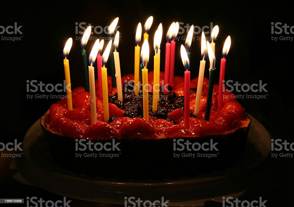 birthday cake 01 royalty-free stock photo