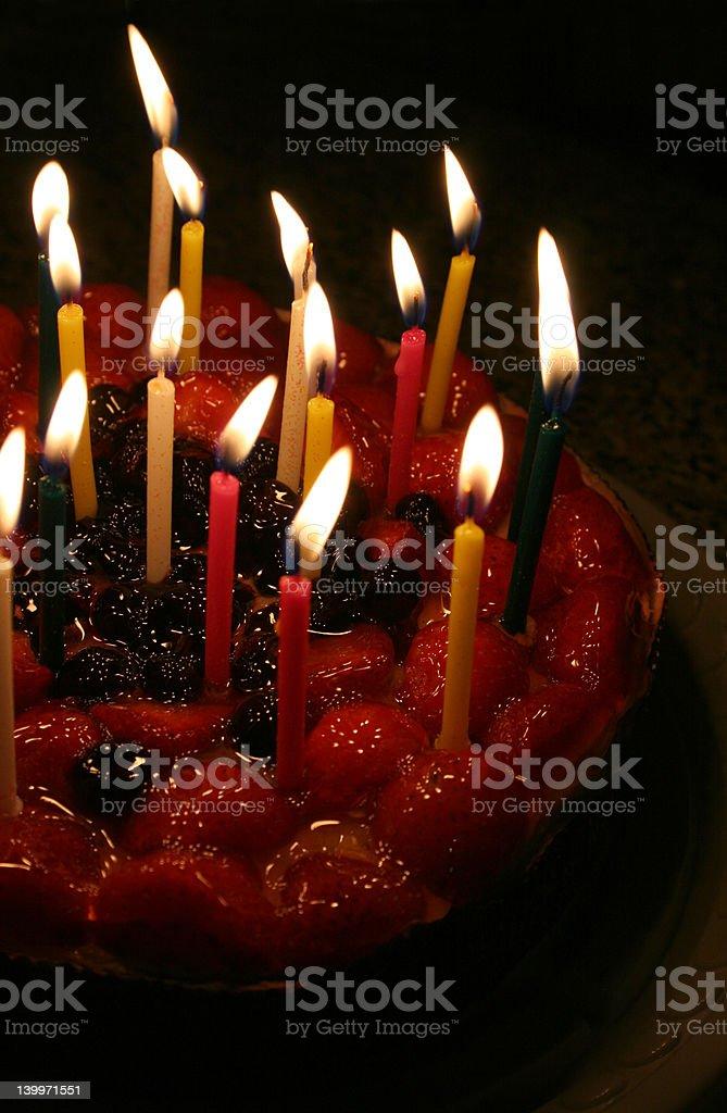 birthday cake 02 royalty-free stock photo