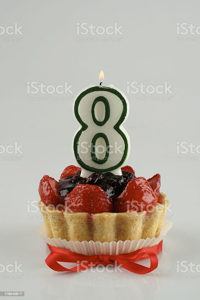 Birthday cake 08 royalty-free stock photo
