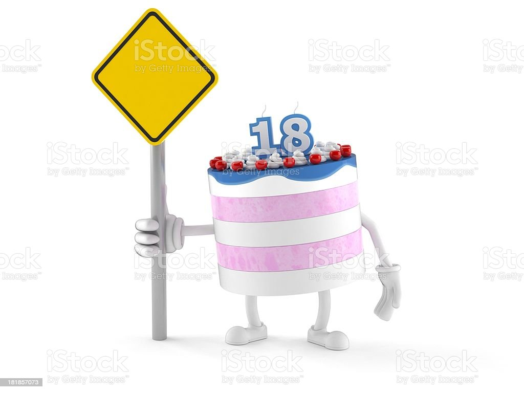 Birthday cake royalty-free stock photo