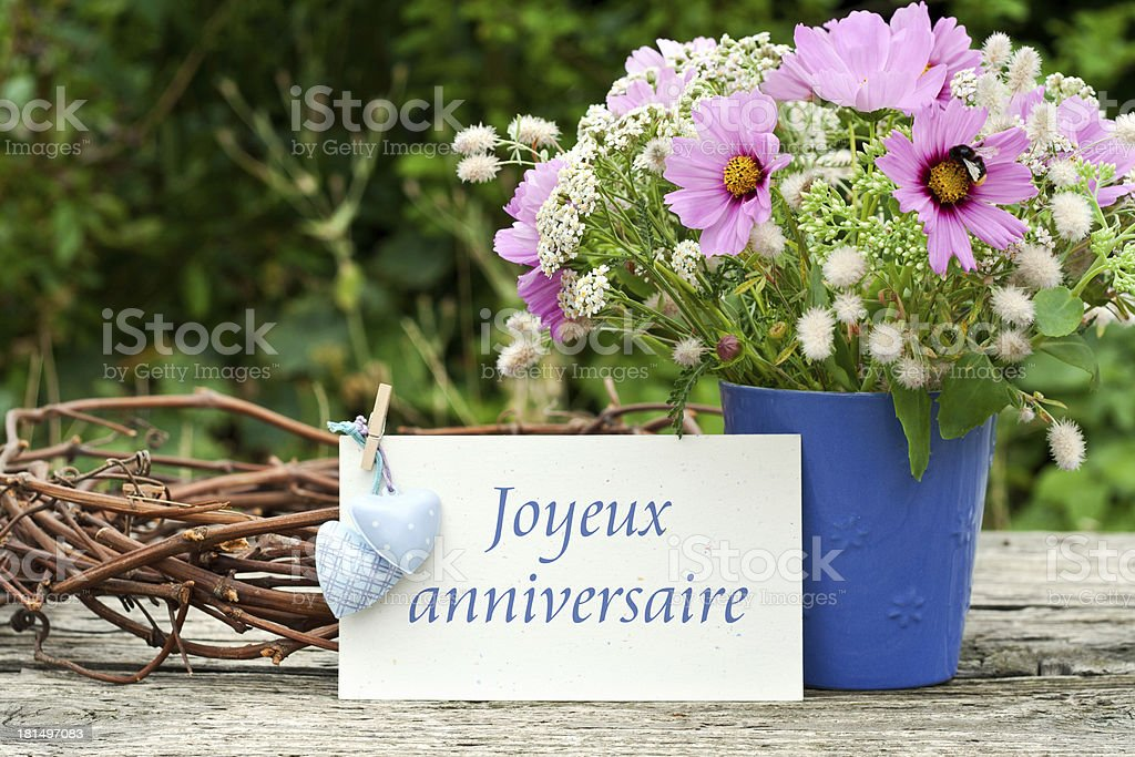 birthday card royalty-free stock photo