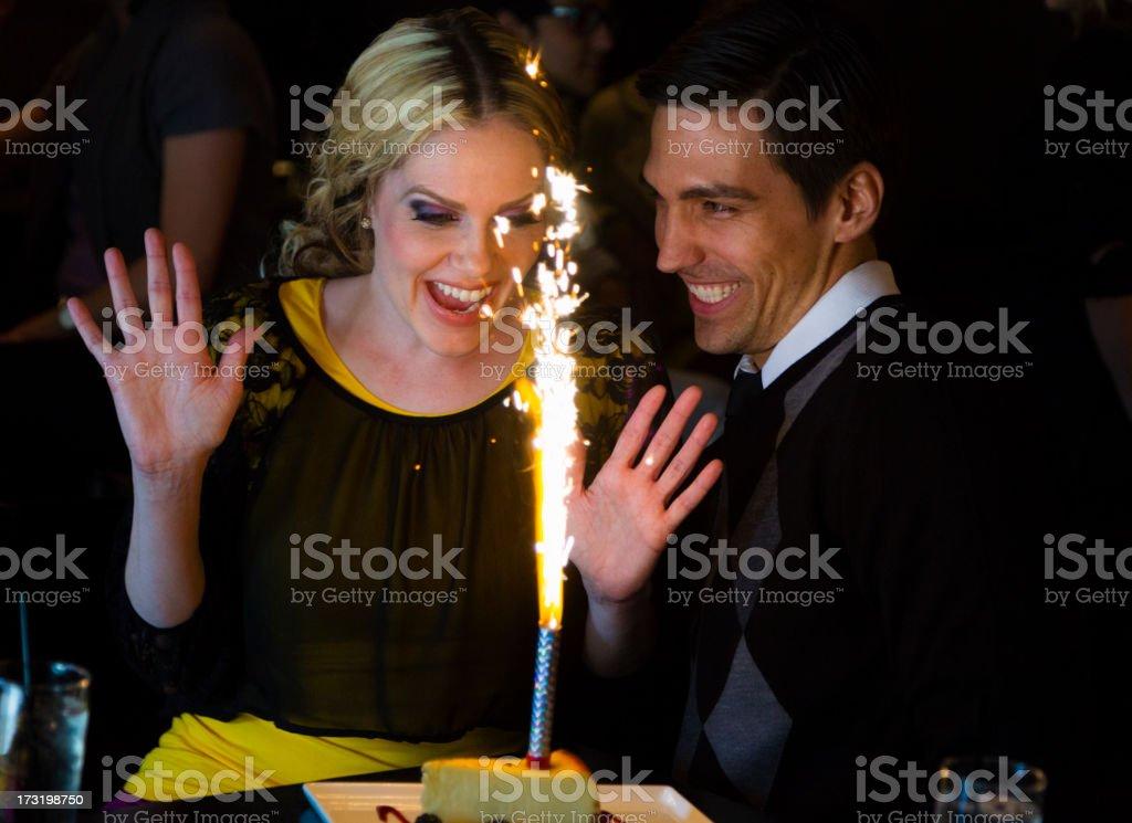 Birthday Celebration royalty-free stock photo