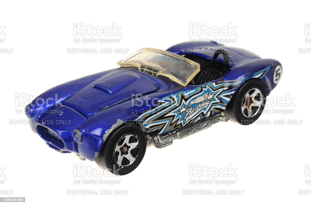 1982 Birthday Cobra Hot Wheels Diecast Toy Car stock photo