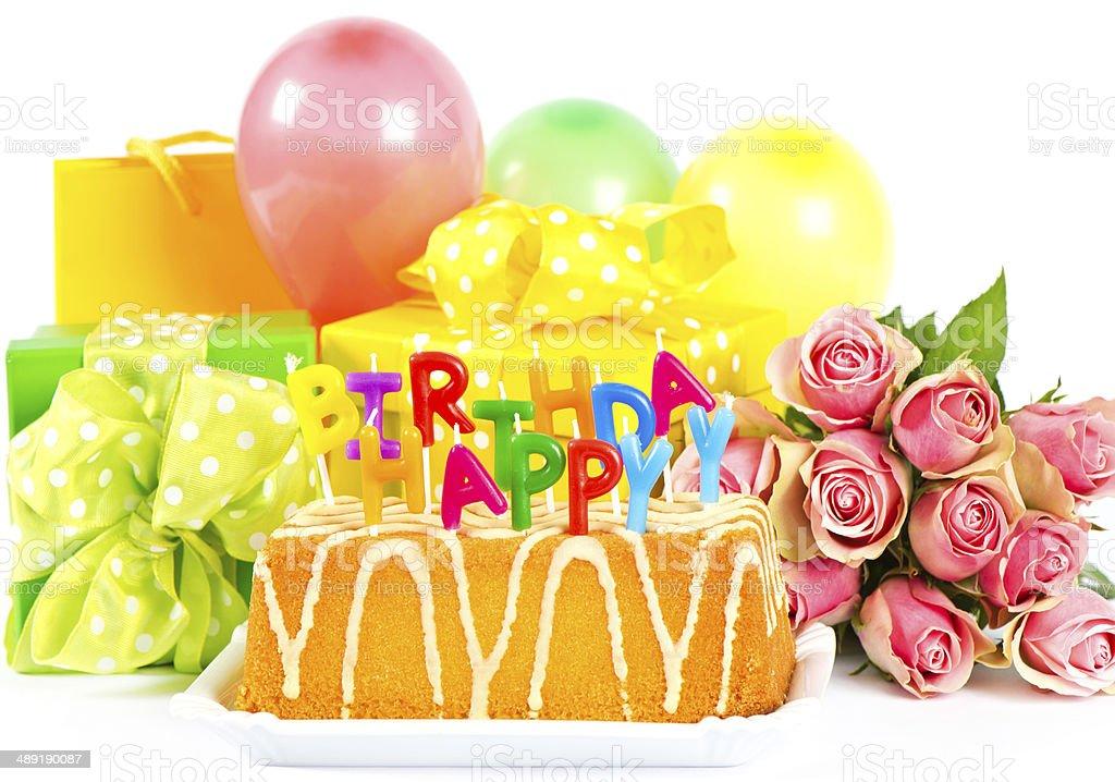 картинки цветы и шарики с днем рождения