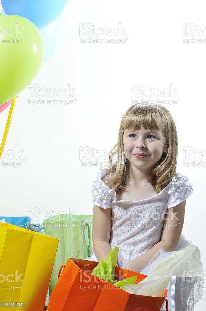 Birthday Girl stock photo