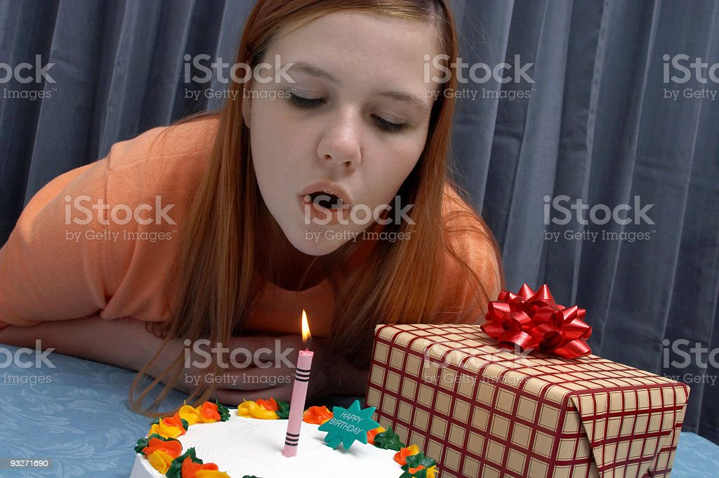 Birthday Girl royalty-free stock photo