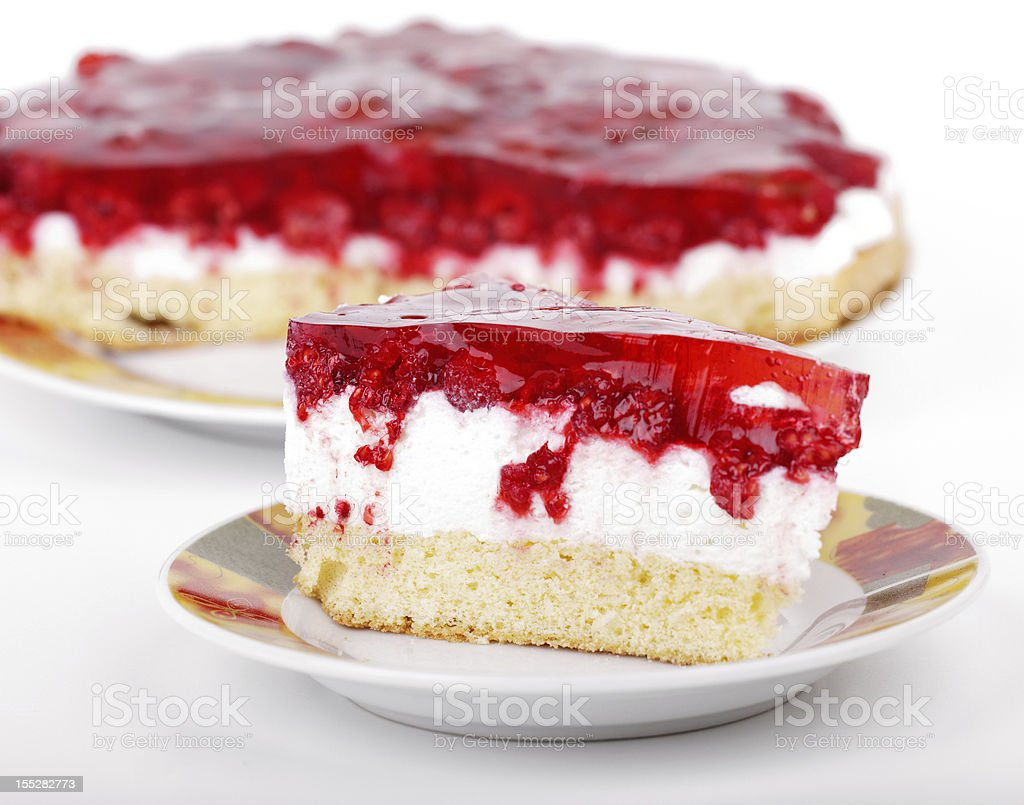 birthday layer cake royalty-free stock photo