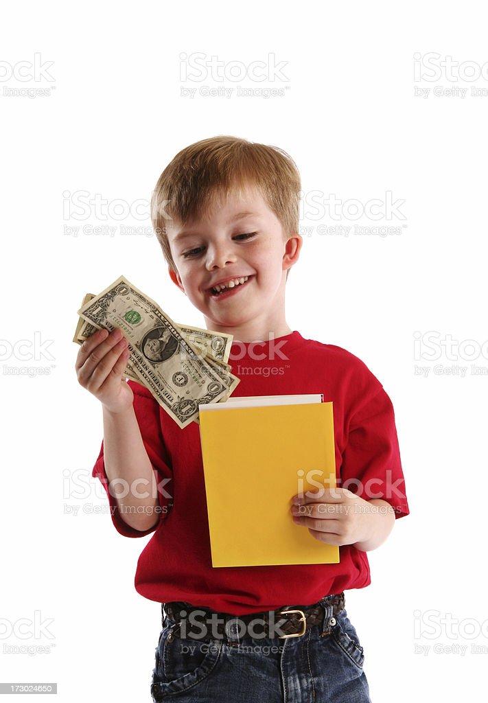 Birthday Money royalty-free stock photo