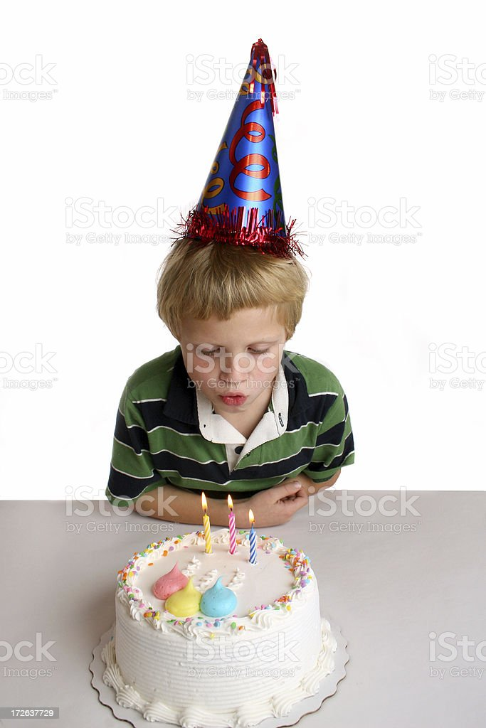 birthday party boy royalty-free stock photo