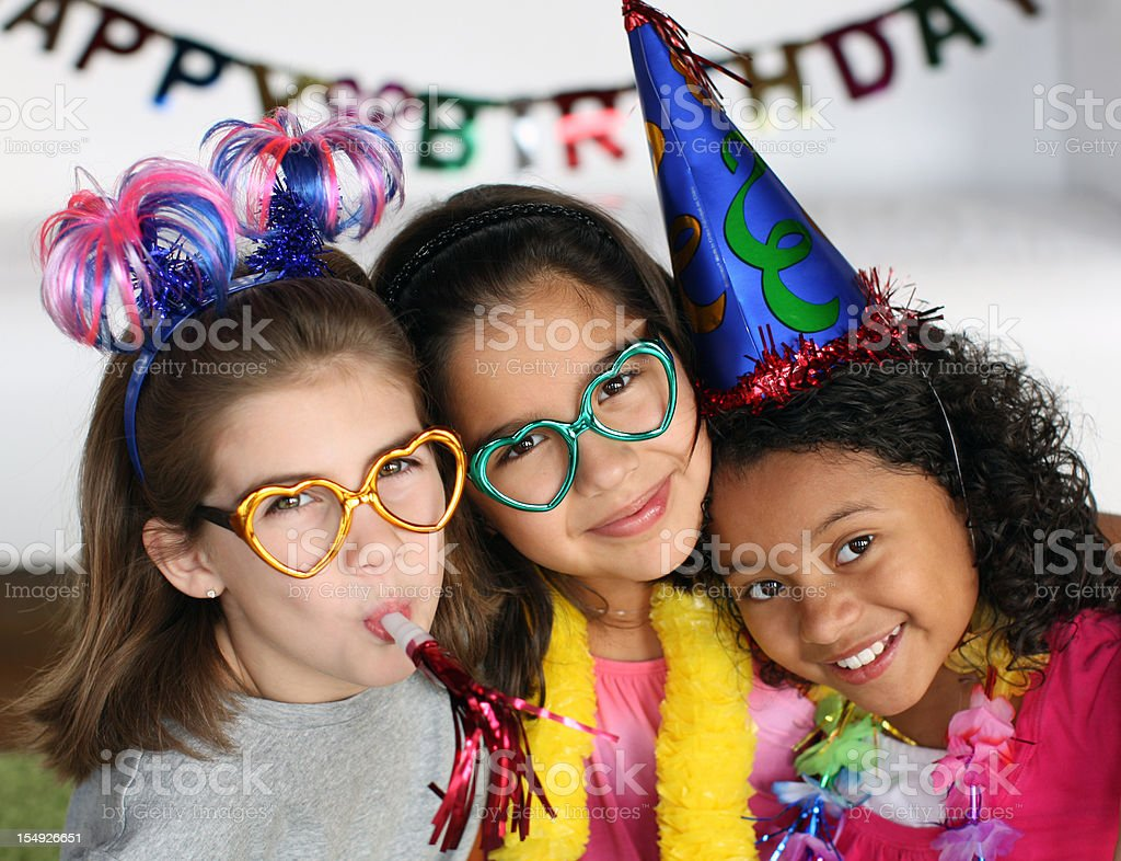 Birthday party royalty-free stock photo