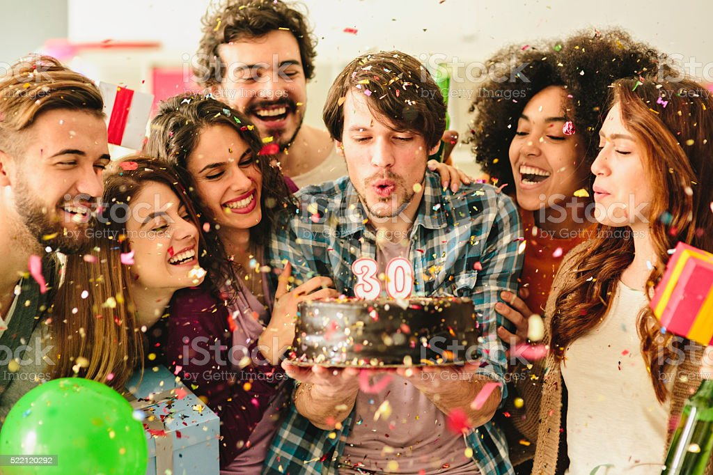 30 Birthday Party stock photo