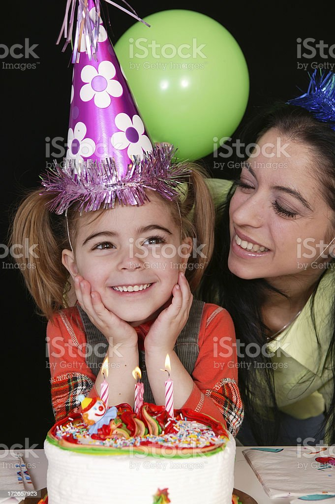 birthday party series royalty-free stock photo