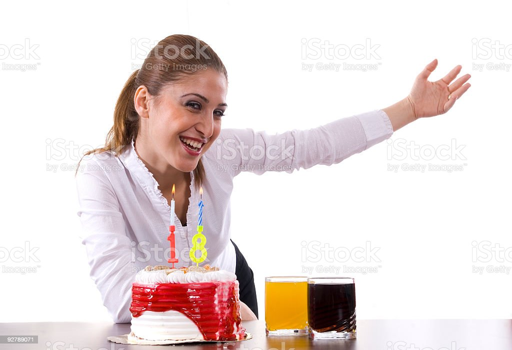 Birthday Party time royalty-free stock photo